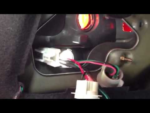 Tail light socket replacement 1 YouTube