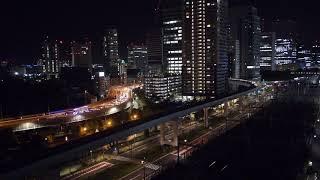 [首都高事故]2018/8/14 21:15 Motorcycle accident Tokyo Live Camera ch1 東京 汐留 ライブカメラ