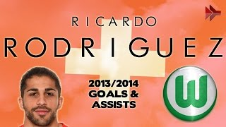 Ricardo RODRIGUEZ - Goals, Assists, Tackles | 2013/2014 | HD