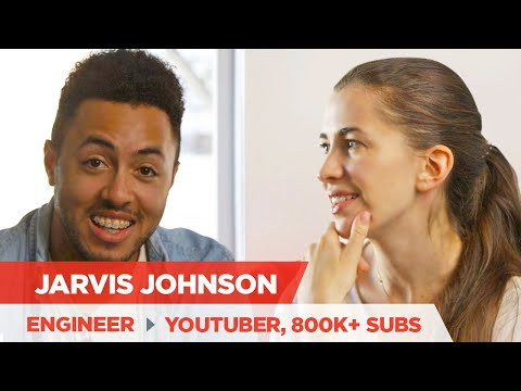 Jarvis Johnson: How To Get 800K Subscribers And Leave A Day Job For YouTube