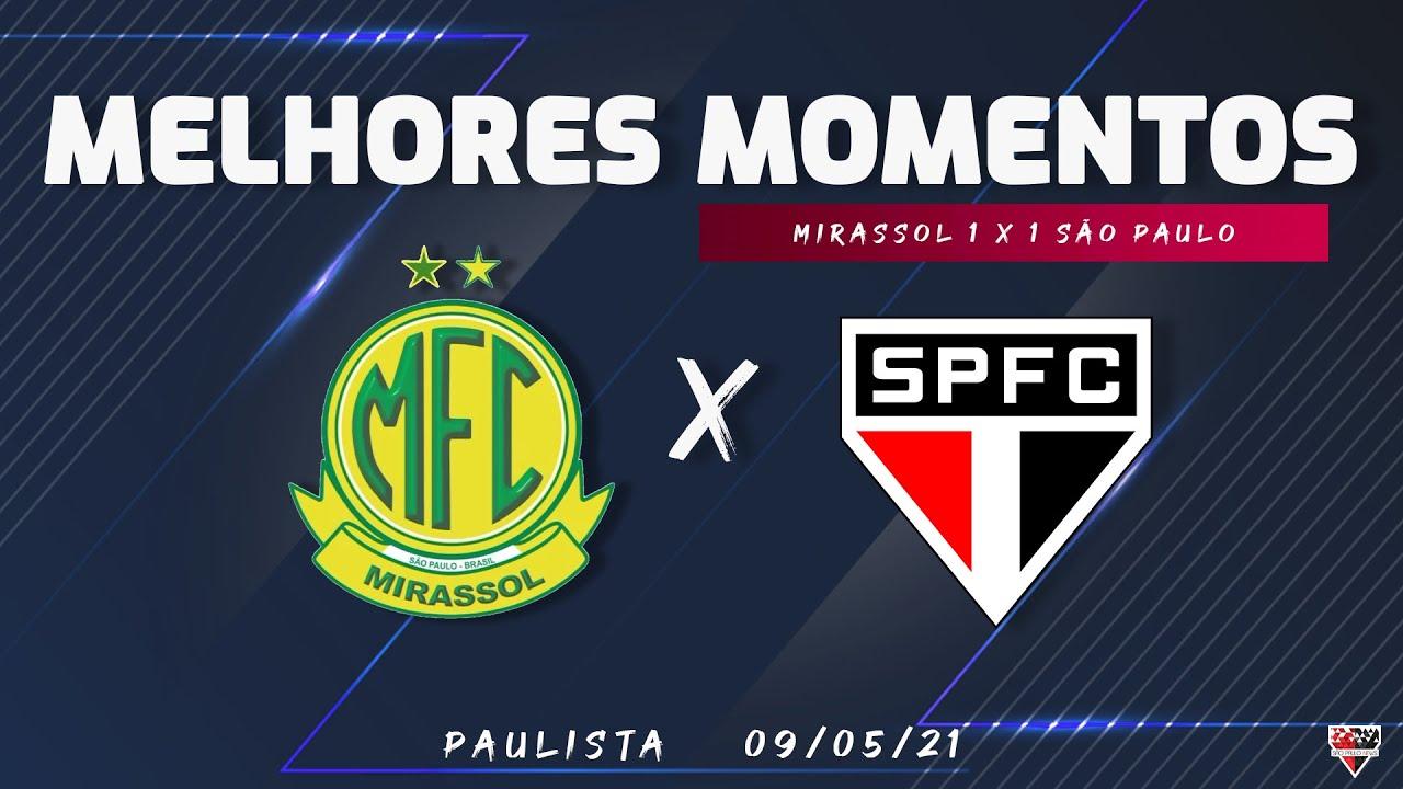 MIRASSOL 1 x 1 SÃO PAULO | Melhores Momentos | 09/05/2021| Libertadores 2021