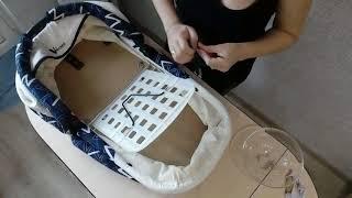 Как снять чехлы и постирать загрязнившуюся коляску