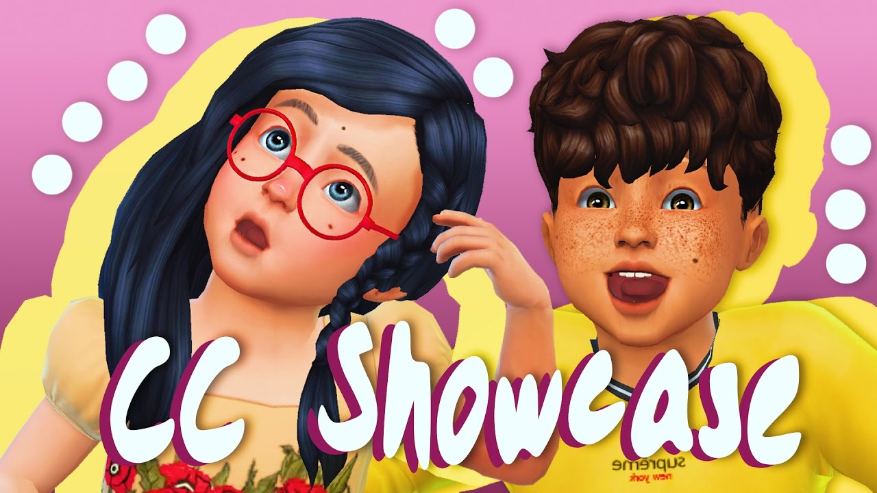 The Sims 4 Toddler Cc Showcase Youtube