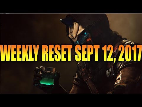 Destiny 2 Weekly Reset September 12, 2017 - Gimmie The Loot!