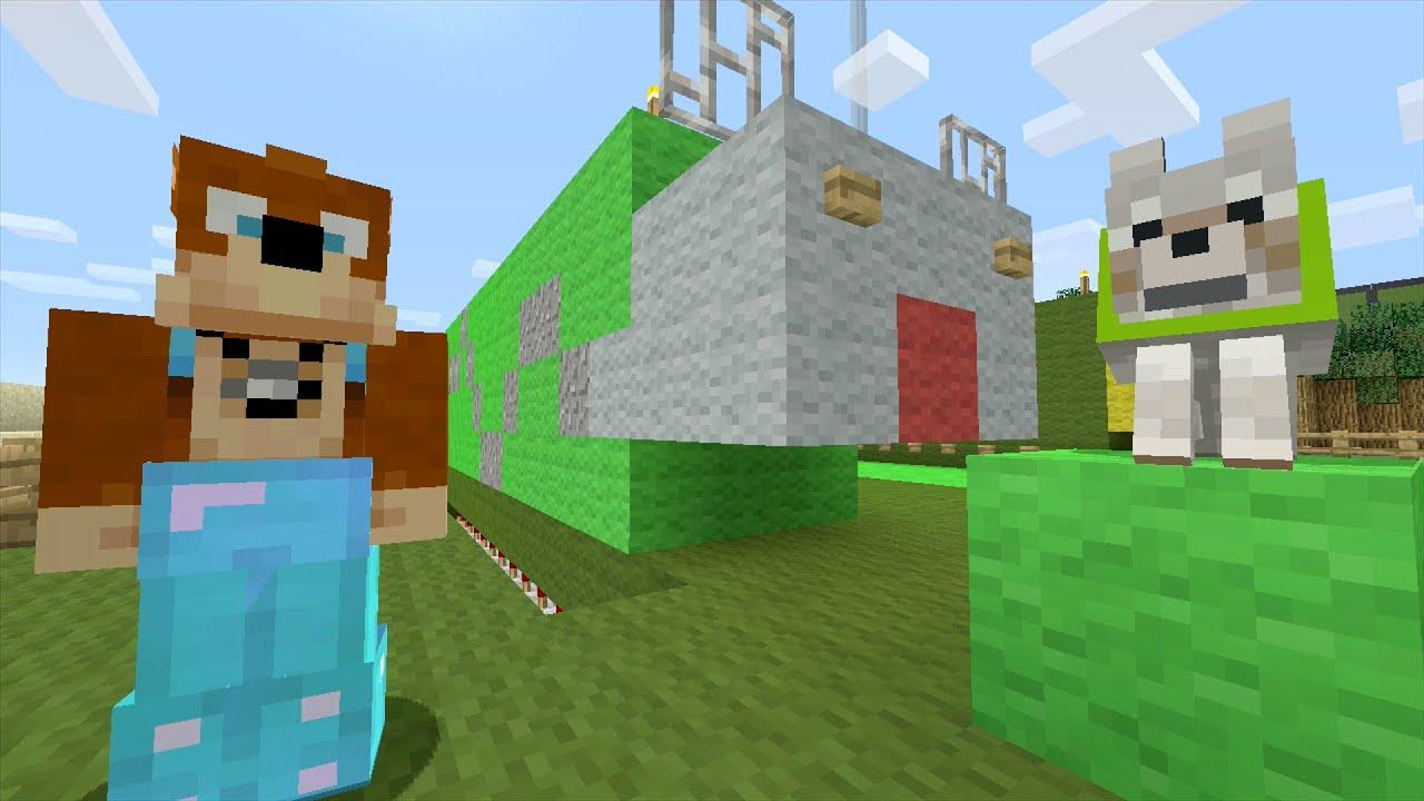 Minecraft Xbox Curly Caterpillar 216 YouTube
