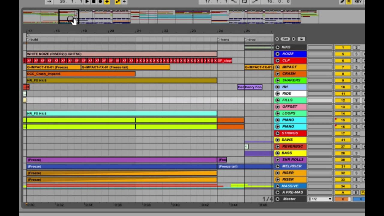 Edm song structure 101 youtube for Song structure template