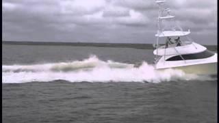 Viking Yachts 55 Convertible Sea Trial