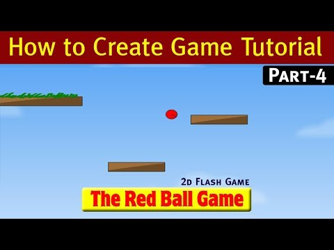 [Hindi] How to create 2D flash Game Tutorial - Part 4 thumbnail