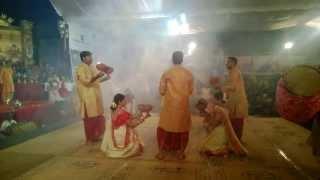 Dhunuchi dance, Bengalee Association Bangalore - Puja 2013