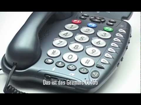 Telefon Geemarc CL455 German 1