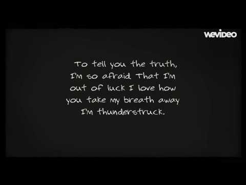Thunderstruck By Owl City Lyric Video