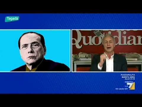 Travaglio su Berlusconi: Lo vogliamo dire che è completamente rincoglionito?