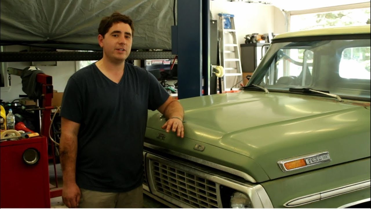 1970 Ford F100 Transmission Oil Change No Drain Plug Youtube Ranger 4x4