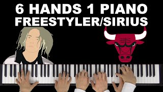 Bomfunk MC S The Alan Parsons Project Freestyler Sirius Chicago Bulls Theme 6 Hands 1 Piano