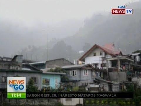 NTG: Masamang panahon, patuloy na nararanasan sa Bontoc, Mountain Province