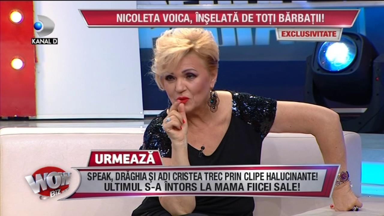 WOWBIZ (04.07.2017) - Nicoleta Voica, inselata de toti cei 3 soti! Pe ultimul l-a prins in flagrant