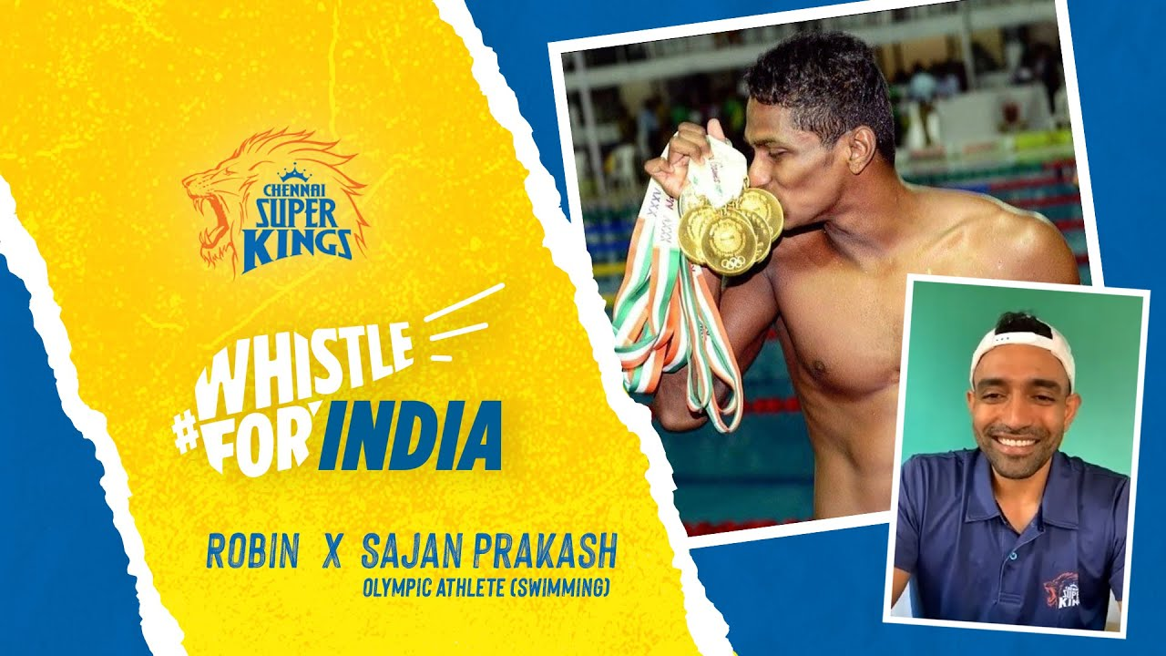 Sajan Prakash's in Conversation with Robin Uthappa l Whistle for India