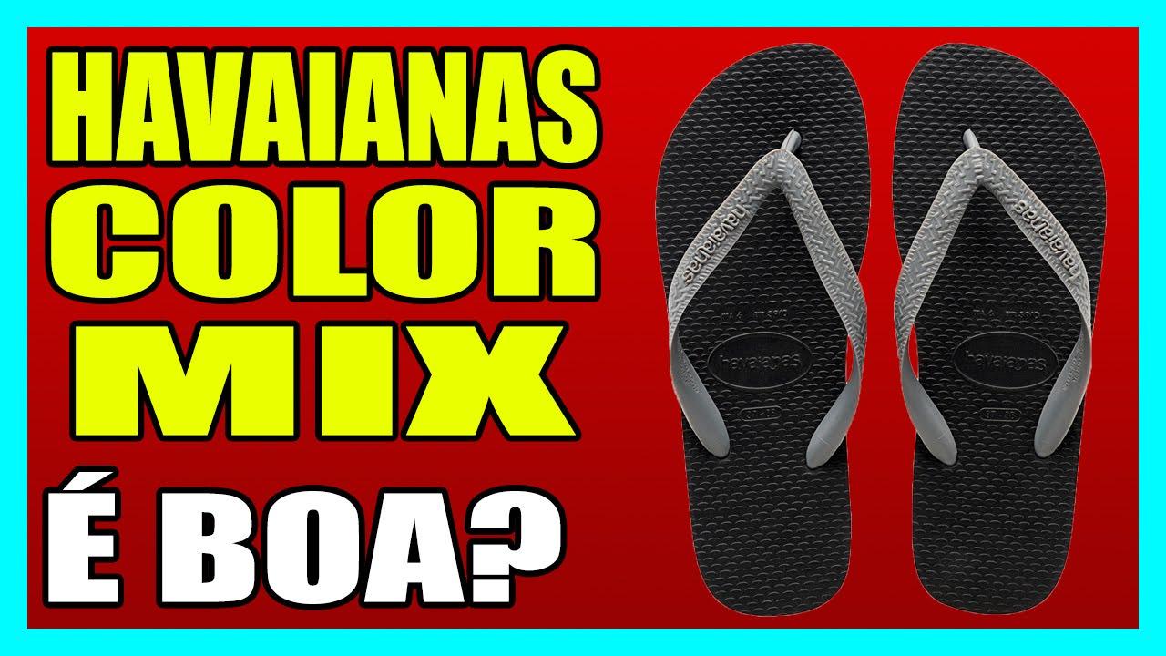 a210e93bfa3 HAVAIANAS COLOR MIX - YouTube