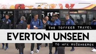 EVERTON UNSEEN #2: THE TOFFEES TRAVEL TO RUZOMBEROK