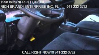 1998 Isuzu NPR Dump Truck for sale in SARASOTA, FL 34233 at