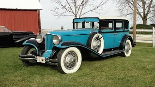 1930 Cord L-29 4 Door on My Car Story with Lou Costabile