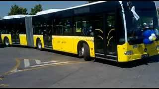New Istanbul Buses (Mercedes-Benz OM 457 LA) are on service Part: 1