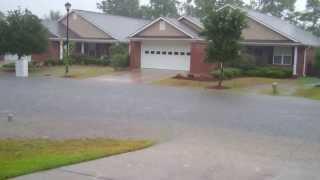 Flooding Monkey Junction, Wilmington NC