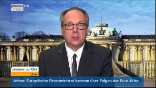 Tarifverhandlungen im öffentlichen Dienst: Ansgar Hocke am 01.04.2014