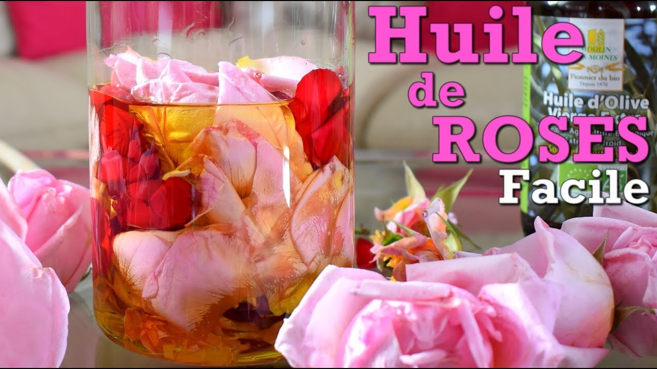Diy huile de roses faite maison r g n ratrice anti rides for Anti ride maison