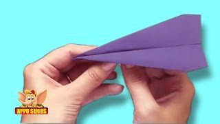 Origami - How to make an Airplane
