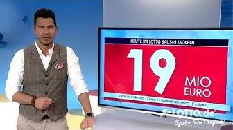 Ziehung der Lottozahlen vom 15.06.2019