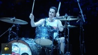 The Beatles Drum Chronology LIVE at Madison Square Garden / New York Knicks Halftime Show