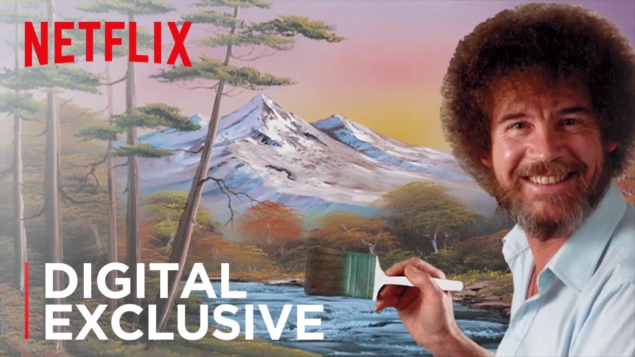 Digital Exclusive Happy Birthday Bob Ross Netflix Youtube
