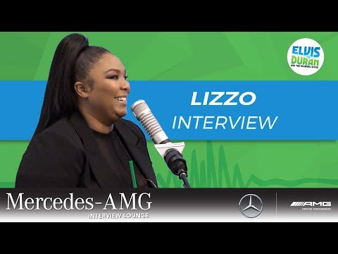 The Moment Lizzo Realized This is It   Elvis Duran Show