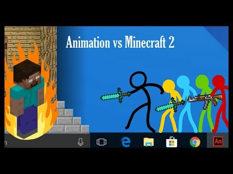 Animation Vs. Minecraft (Fan Made)[Minecraft cartoon]
