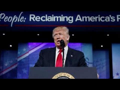 How mainstream media covered Trump, Bannon at CPAC