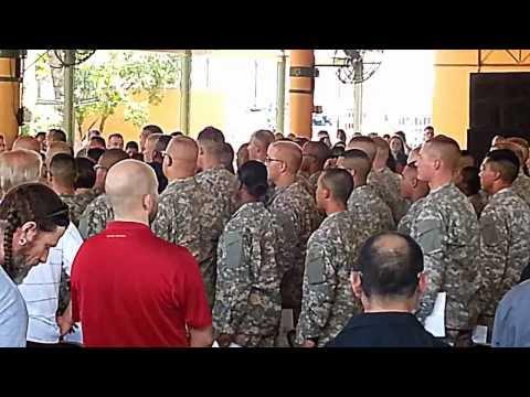 Army AIT Graduation At FORT SAM HOUSTON 2012