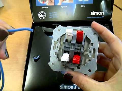 Simon 77 embornado rapido youtube - Interruptor de cruce ...