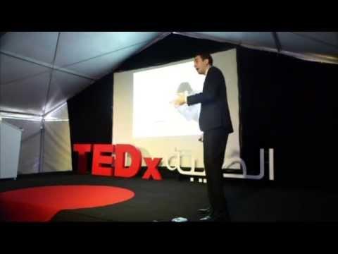 بداية رجل شجاع   Shady Kassis شادي قسيس   TEDxTaybeh 2013