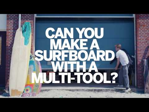DREMEL | Make A Surfboard With A Dremel 3000