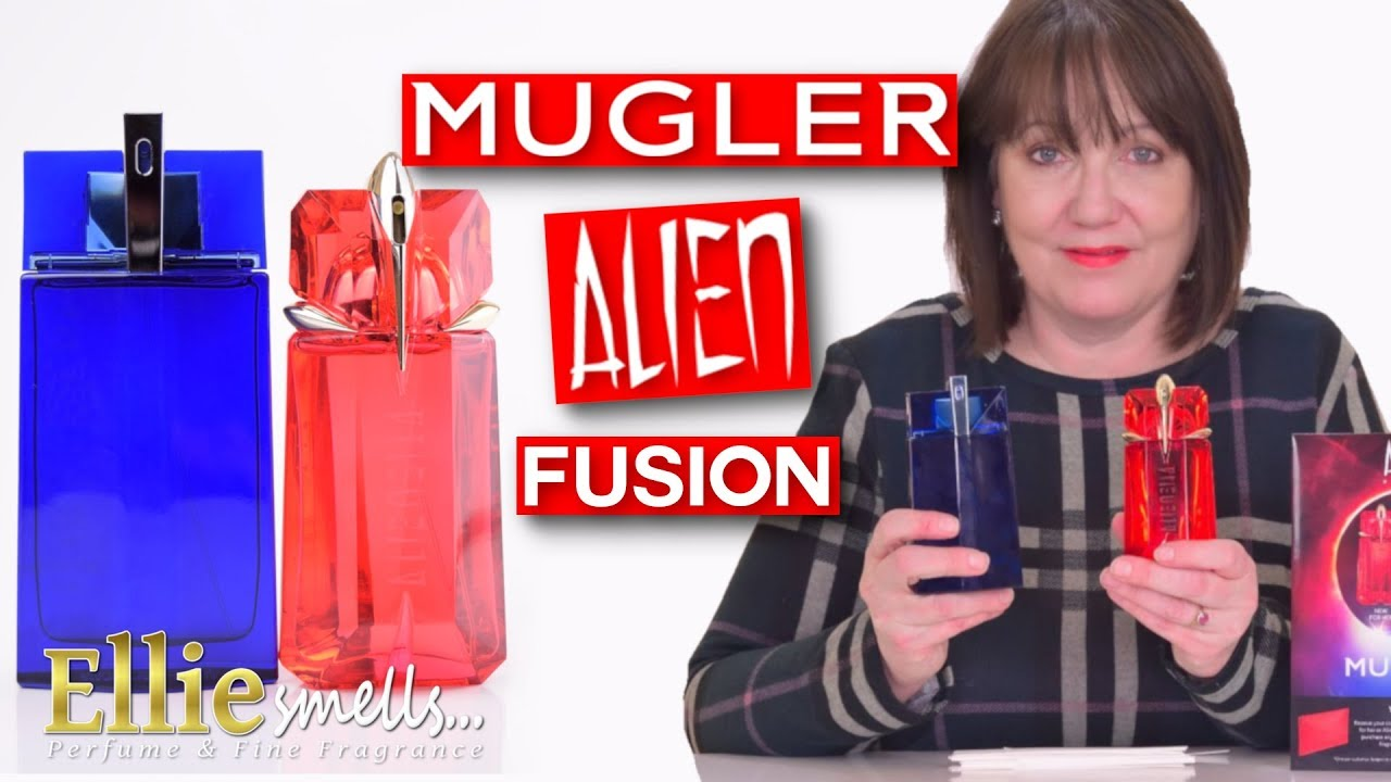 Mugler Alien Fusion and Alien Man Fusion Fragrance Review