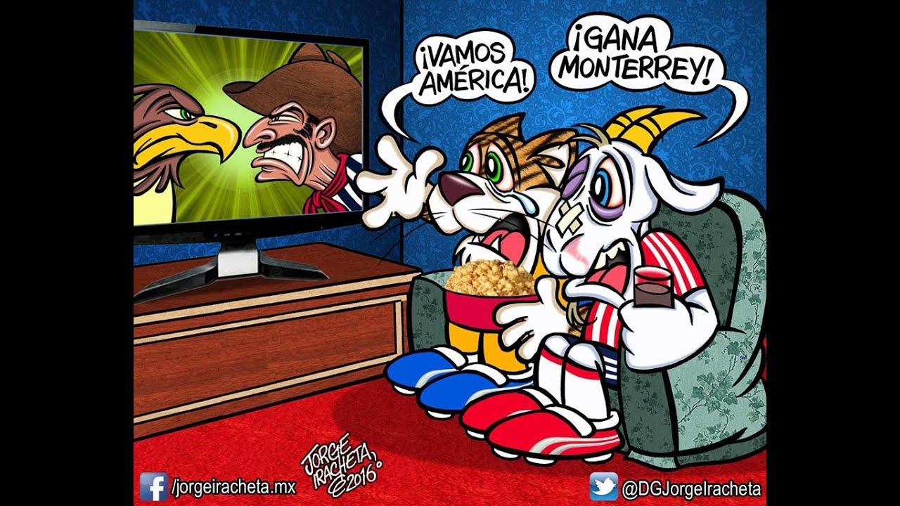 MEMES AMERICA 1-0 RAYADOS SEMIFINAL IDA CLAUSURA 2016 # ...