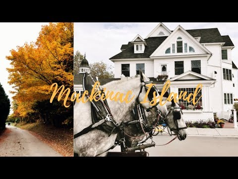 Vlog de calatorie | Weekend aniversar pe o insula de poveste - Mackinac Island
