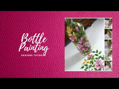 bottle-painting-designs-tutorial-|-glass-bottle-painting-|-easy-painting-|-aressa1-|-2020
