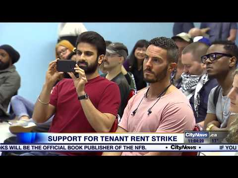 Striking Parkdale residents receive support from allies