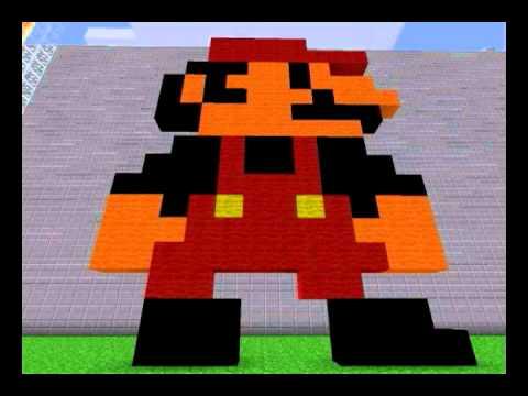 Minecraft Пиксель арты часть 2