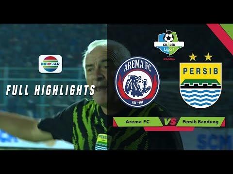 AREMA FC (2) vs PERSIB BANDUNG (2) - Full Highlight    Go-Jek Liga 1 bersama Bukalapak