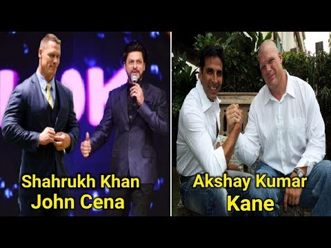 10 WWE Superstars And Bollywood Stars Who Are Friends ?? WWE Raw Highlights Today
