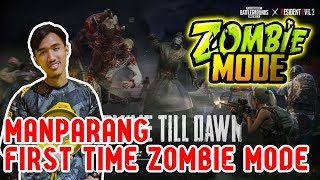 First Time Chicken Dinner in ZOMBIE MODE! ManParang Gameplay | PUBG Mobile Malaysia