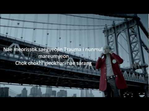 BIGBANG - BLUE (Romanization Lyrics+ English Translation)